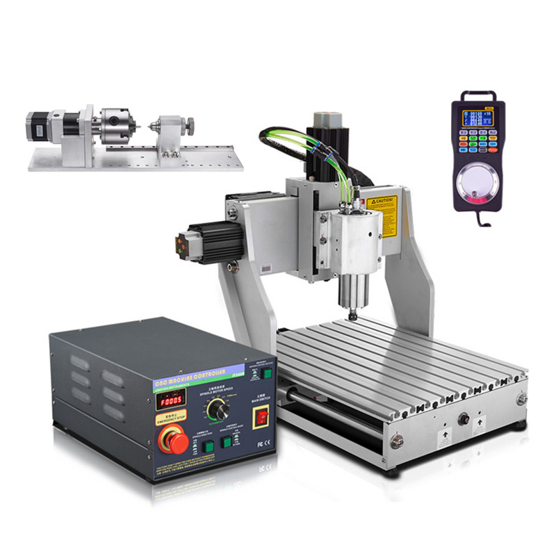 CNC Router Industrial milling machine 4030 wood cnc lathe carving Machine no tax to russia cnc carving machine 4030 z d300 cnc lathe mini cnc router for woodworking