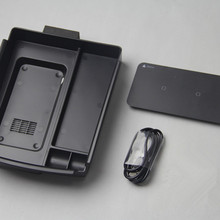 Мобильный телефон Беспроводная зарядка в середине магазина содержимое коробки автомобильные аксессуары для tesla модель x модель s
