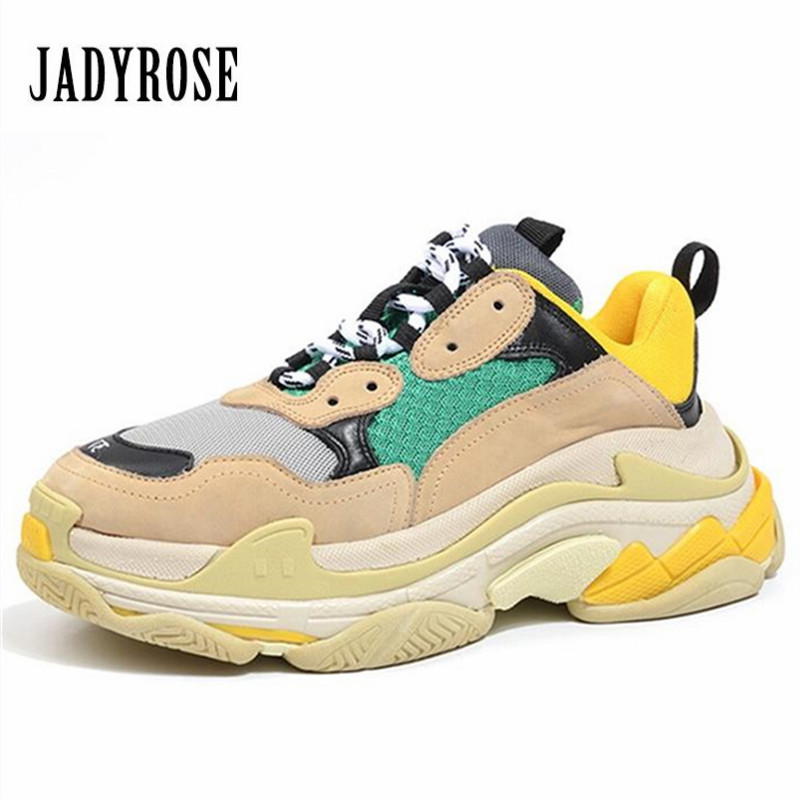 Jady Rose Women Sneakers Thick Platform Casual Flat Shoes Woman Creepers Female Tenis Feminino Espadrilles Chaussures Femme phyanic 2017 gladiator sandals gold silver shoes woman summer platform wedges glitters creepers casual women shoes phy3323