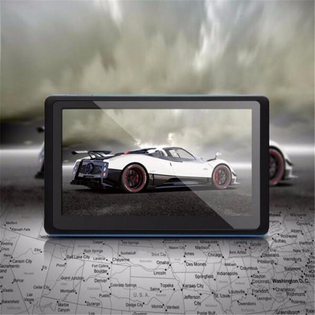 5 Polegada LCD Car GPS Navigation CPU 800 MHZ FM/8 GB/DDR3 Para O REINO UNIDO/Europa/EUA/América do Norte/Austrália Mapa