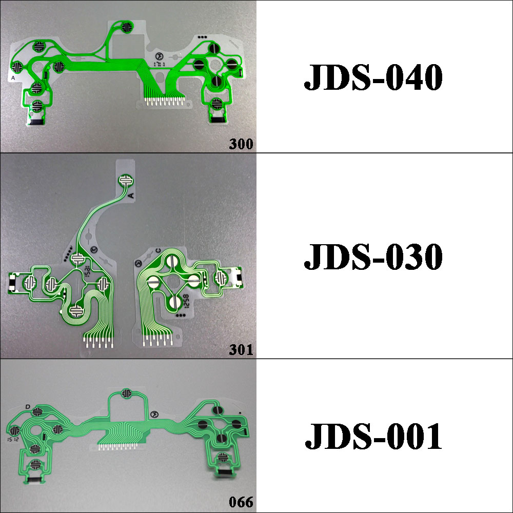 JDM040 JDS-030 JDS-001 Controller Conductive Film Conducting Film Keypad flex Cable For Playstation 4 PS4 Pro JDS-040 Controller