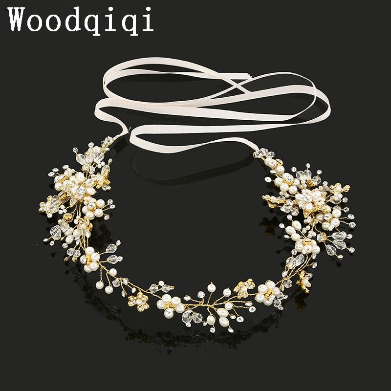 Wedding Hair vine babys breath, pearly White Tiara,headband,crown,bridal, Boho Pagan,Celtic,prom