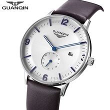 GUANQIN Mens Watch Top Brand Luxury Watch