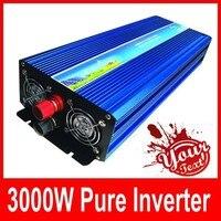 3000 Вт Автомобиль Электронные Интимные аксессуары 3000 Вт DC12V к AC 220 В Чистая синусоида Инвертор 3000 Вт пик Мощность 6000 Вт Солнечный инвертор