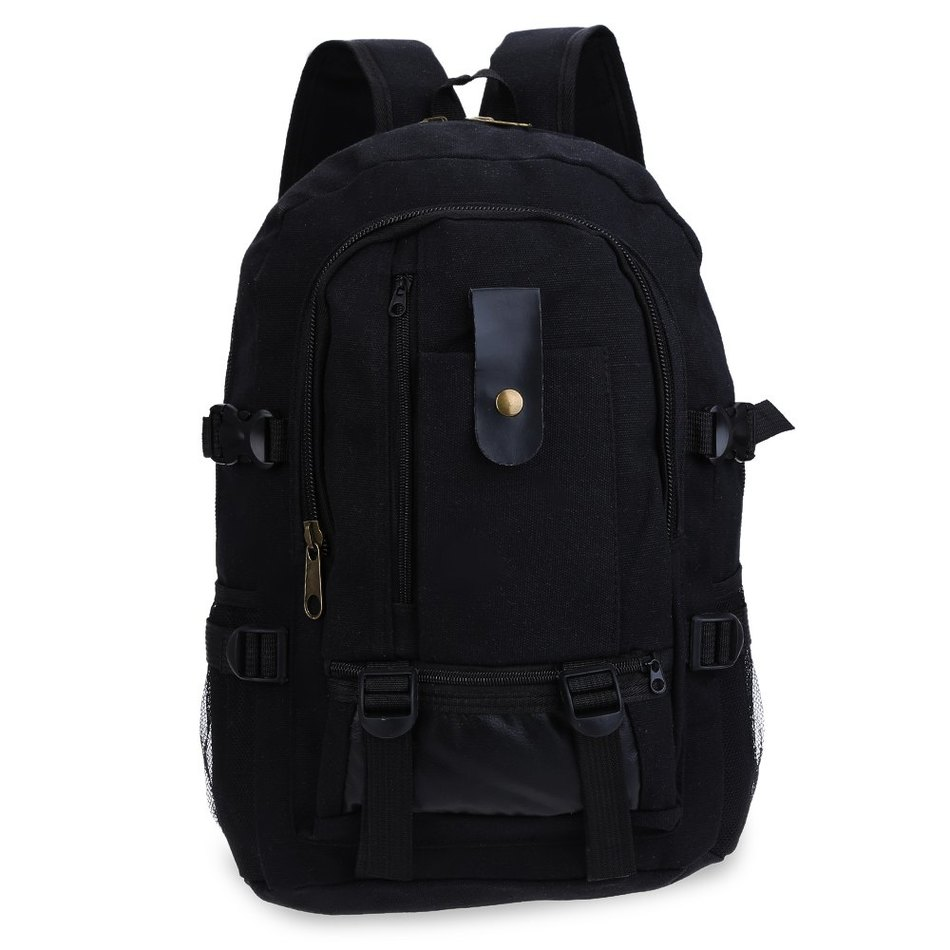 2016 Spring Summer Women Men Travel Bag Backpacks Multi function Canvas Lock Teenager School Bags