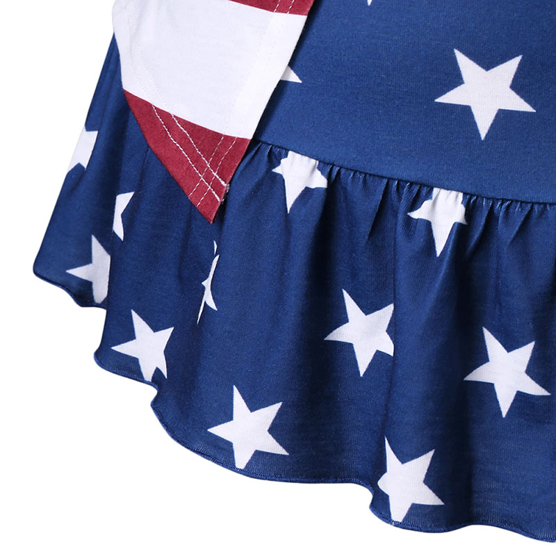 PlusMiss плюс Размеры 5XL 4XL американский флаг США Волан майка Для женщин полосатый звезда лук жилет без рукавов Топ Лето 2018 большой Размеры