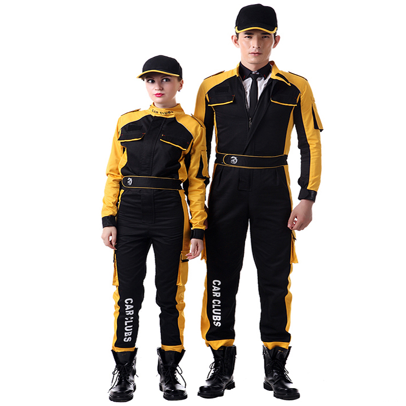 Work Clothing Men Women Working Coveralls Auto repair car beauty Workers Uniforms High Quality Unisex Overalls