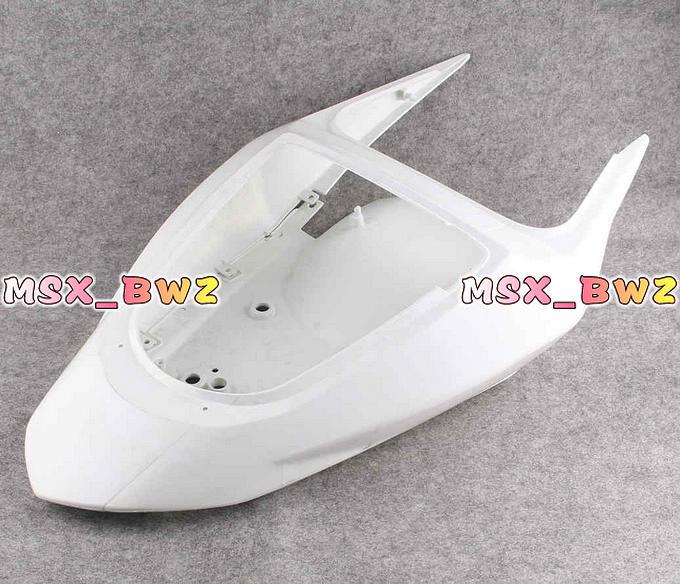 ABS Plastic Unpainted Tail Rear Fairing For Kawasaki Ninja ZX6R 2003 2004 Motorcycle Parts & Accessories
