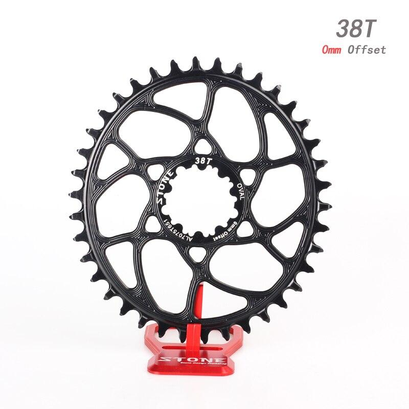 Bicicleta BB30 para S ram Montagem Direta Oval Coroa Estreito Largo Cadeia Roda 0 milímetros offset