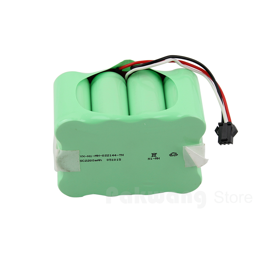 Ni battery vacuum cleaner XR510 brand new robot vacuum cleaner battery 14.4v 2200mAh parts of robotic vacuum free shipping