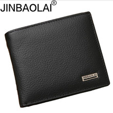 100% Genuine Leather Mens Wallet Premium Product Real Cowhide Wallets for Man Sh