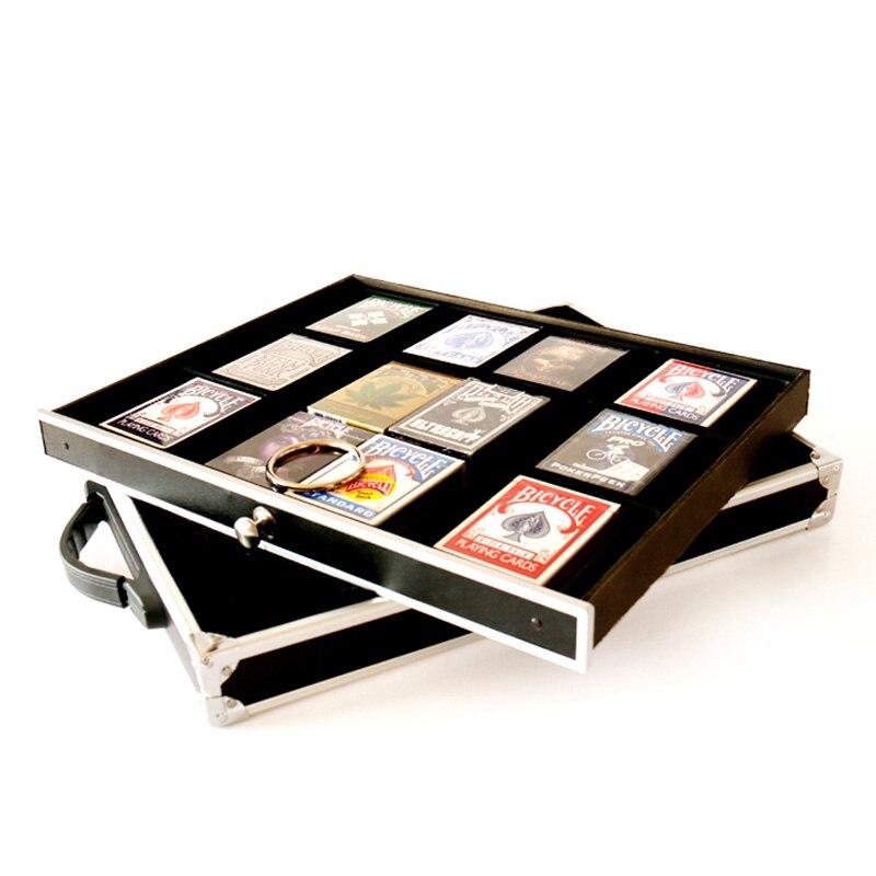 Multifonctionnel boîte magique malette magique tours de magie