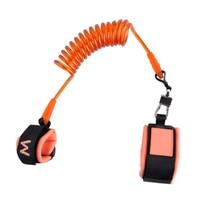 1.8m adjustable safety comfortable kid keeper baby walker wrestling belt baby Anti lost wrist link harnesses band braclet strap