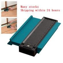 Пластиковый измерительный прибор, контурный профиль, копировальный прибор, Дубликатор, Стандартный, 5 ширина, инструмент для маркировки древесины, плиточный ламинат, плитки, общие инструменты