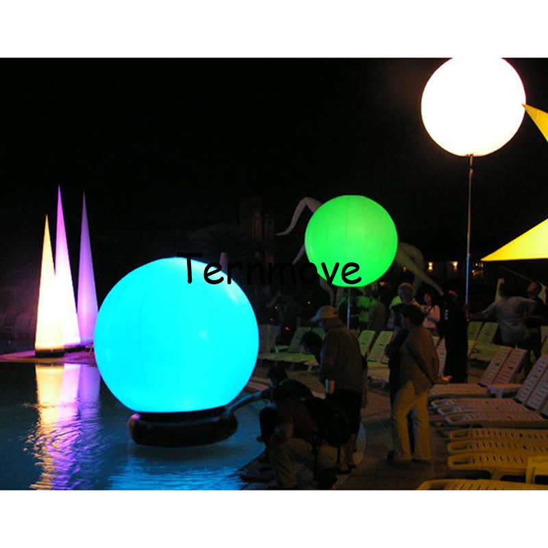 Hanging Led Inflatable Lighting Balloons Rechargeable battery led beach ball remote control color changing giant led balloon-in Inflatable Bouncers from ...  sc 1 st  AliExpress.com & Hanging Led Inflatable Lighting Balloons Rechargeable battery led ...