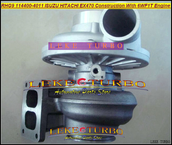 Wholesale RHG9 114400-4011 1144004011 VC600013 Turbo Turbine Turbocharger For ISUZU Various/Industrial with 6WF1T 6WF1 Engine free ship turbo rhf5 8973737771 897373 7771 turbo turbine turbocharger for isuzu d max d max h warner 4ja1t 4ja1 t 4ja1 t engine