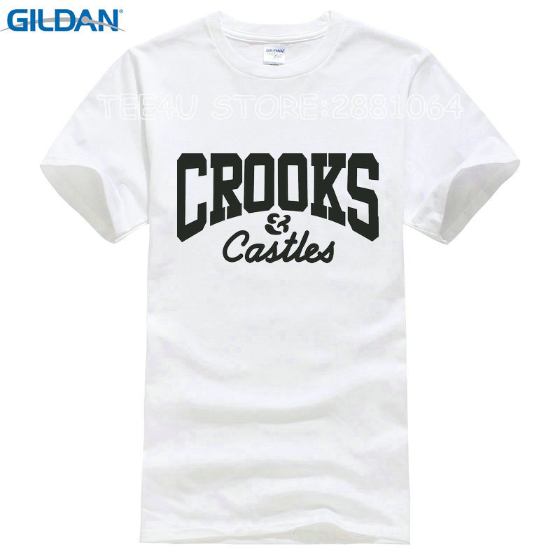 Tee4U Custom T Shirts Online O Neck Men Short Sleeve Office Crooks And Castles Tee