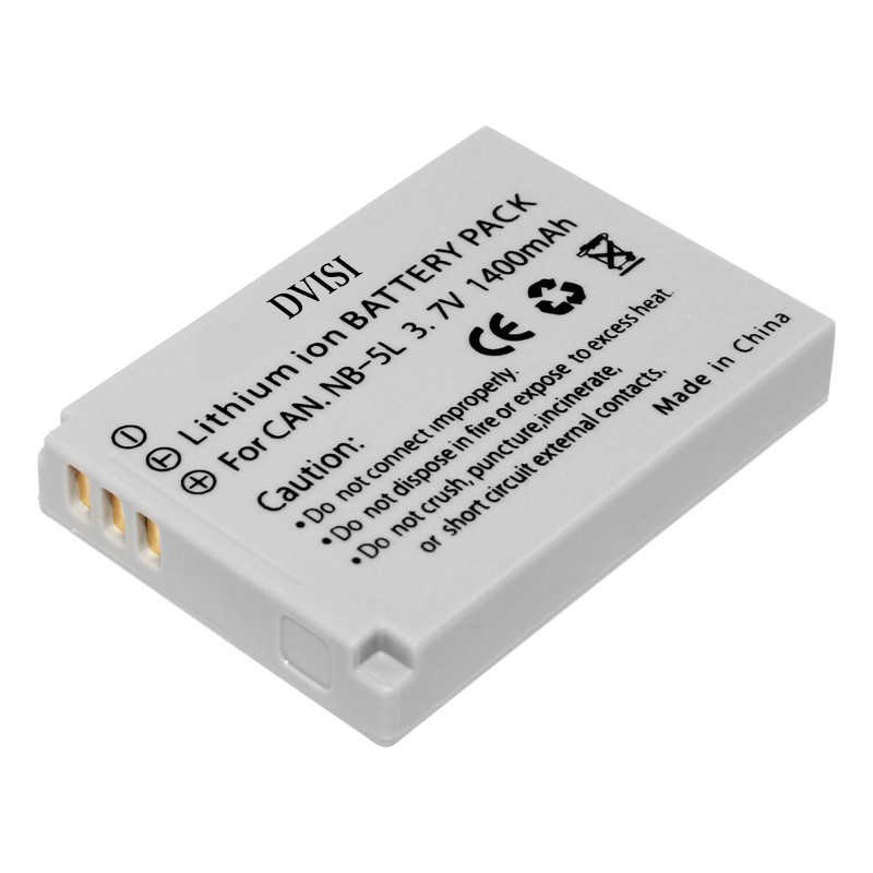 NB-5L 5L akumulator akumulator do aparatów canon NB-5L Powershot S100 SX200 SX230 HS SX210 jest SD790 jest SX200 jest SD800 jest SD890 jest