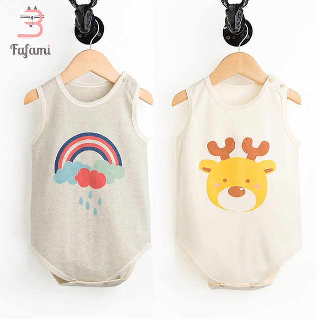 76f4d41b4 2 Pcs set Baby bodysuit Baby girl boy clothes for newborn Organic ...