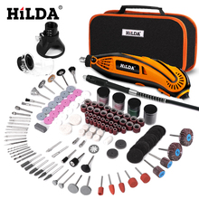 цена на HILDA Electric Drill Dremel Grinder Engraving Pen Grinder Mini Drill Electric Rotary Tool Grinding Machine Dremel Accessories