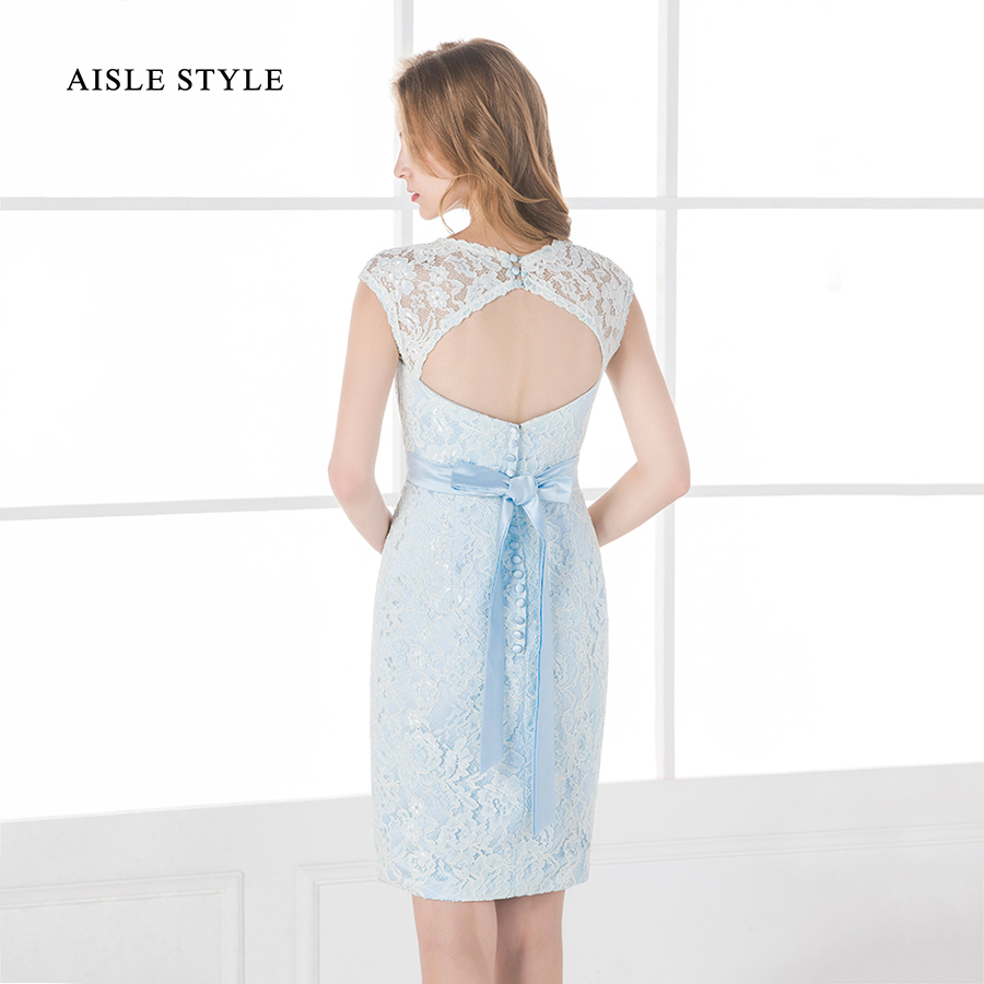 2017 best lace bridesmaid dresses light sky blue vintage short 2017 best lace bridesmaid dresses light sky blue vintage short bridesmaid dress keyhole back for modern wedding party in bridesmaid dresses from weddings ombrellifo Gallery