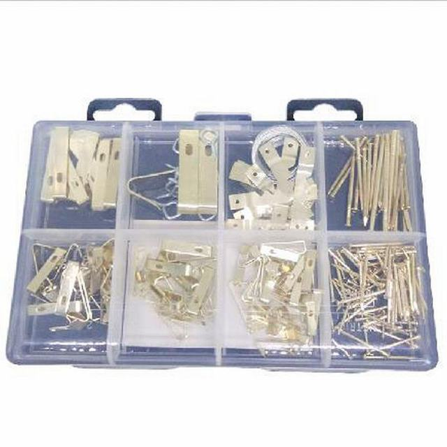 200Pcs Hanging Picture Frame Nail Hardware Set Screw Precision Accessories Kit For Home