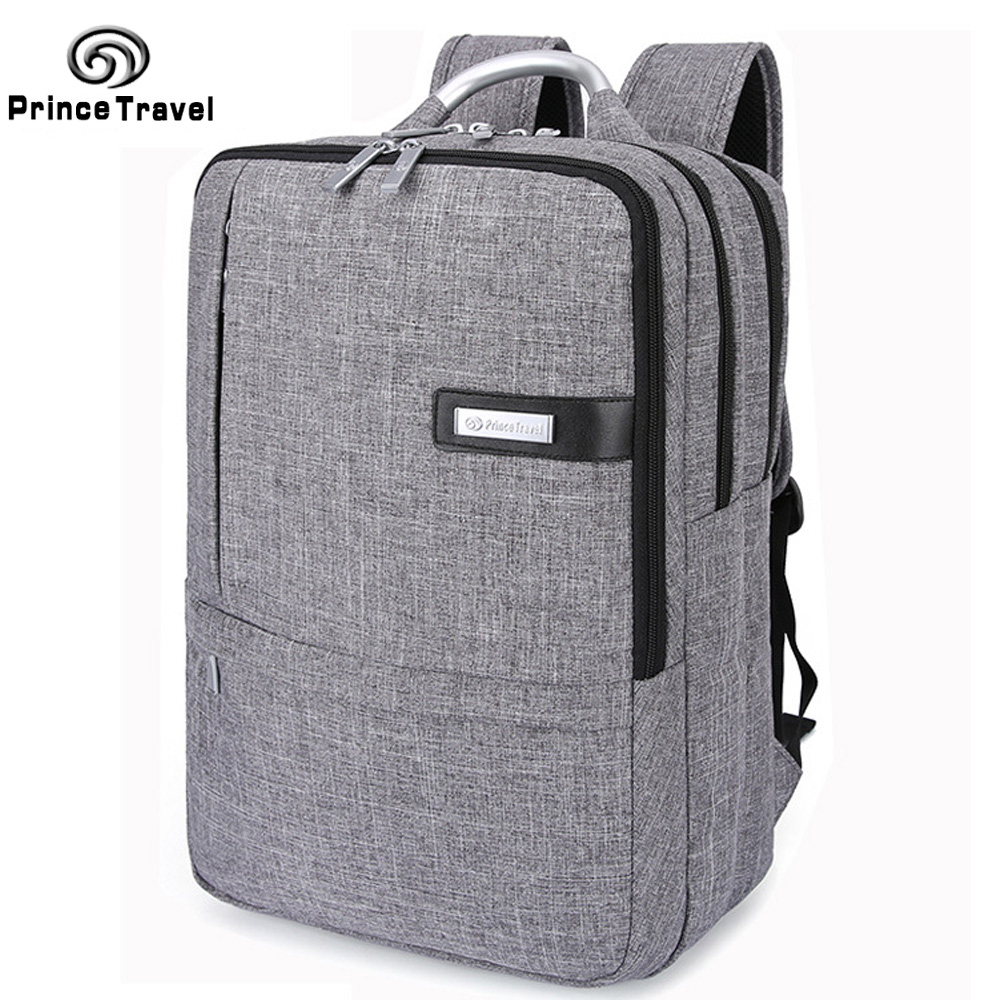 Prince Travel Official Backpack For Business Oxford Travel Bag School Bag For Teenager Backapcks For 15 16 Inch Laptop T6843 voyjoy t 530 travel bag backpack men high capacity 15 inch laptop notebook mochila waterproof for school teenagers students