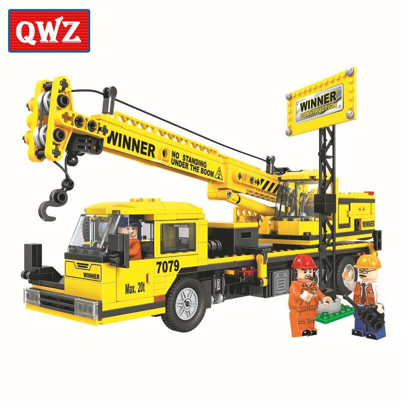 Aliexpress.com : Buy QWZ 507pcs City Engineering Building ...
