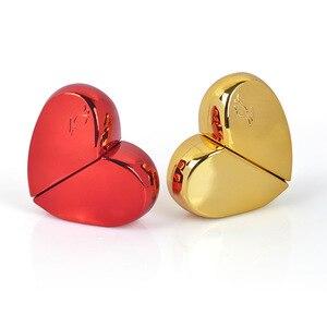 Image 4 - MUB flacon de Parfum en forme de cœur en verre avec pompe dair, atomiseur de Parfum pour femme, flacon vide, récipients cosmétiques, voyage 20ml
