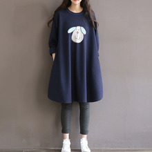 2016 Autumn Winter Shirts Loose Maternity Dress Cotton Long Sleeve Soft Blouse Vestidos Pregnancy Clothes For Pregnant  Women