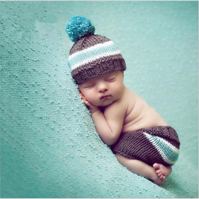Patrón bebé traje de rayas para niños y niñas ganchillo recién ...