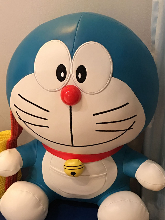 Japan large Doraemon cat PU 45cm stuffed plush toy Kid adult Gift