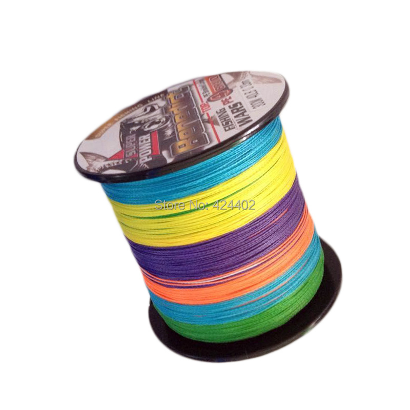 300M super PE Multifilament line fishing Braided wires 4 Strands spectra rainbow strong line for sea fishing