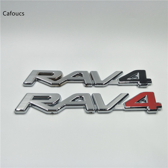 Aliexpress For Toyota Rav4 Rav 4 Emblem Logo Rear Trunk Lid Letters Stickers 162 28mm From Reliable Car Suppliers On Yanteng