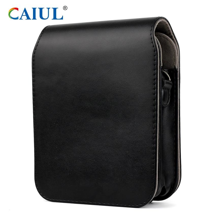 Caiul Exclusive Design Vintage PU Leather bag for Polaroid POP camera Printer