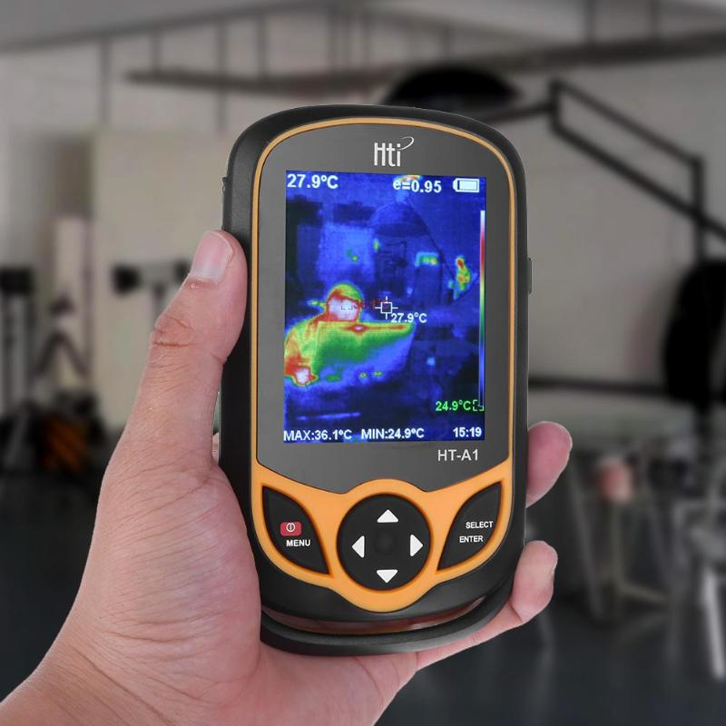 HT-02 Handheld Thermal Imaging Camera With Digital Display For Temperature Measuring 20