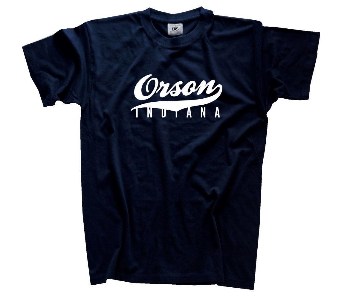 Famous Movie - Orson Indiana T-Shirt S-XXXL Harajuku Tops t shirt Fashion Classic Unique free shipping