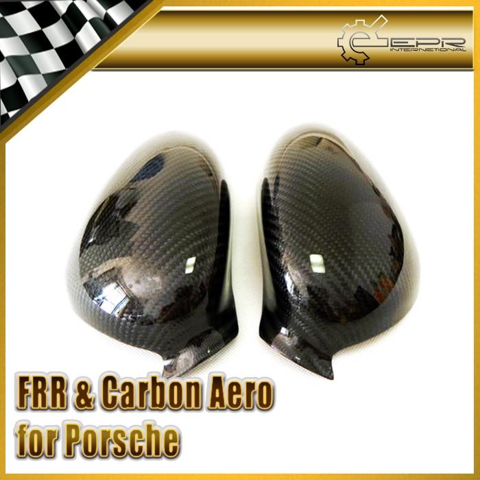 Car Styling For Porsche 1999 2001 996 Boxster Carbon Fiber Mirror Cover
