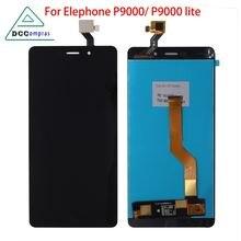 Для elephone p9000 ЖК дисплей сенсорный экран дигитайзер детали