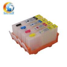 10 sets Cartuchos de Tinta Recargables con la Viruta Permanente Para hp 934 935 para HP Officejet Pro 6230 6830 6815 6812 683 impresora