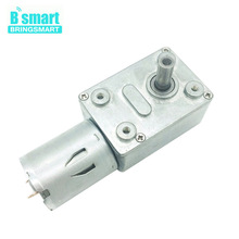 Bringsmart Turbo Geared Motor 12V 24V Mini Gearbox Worm Gear