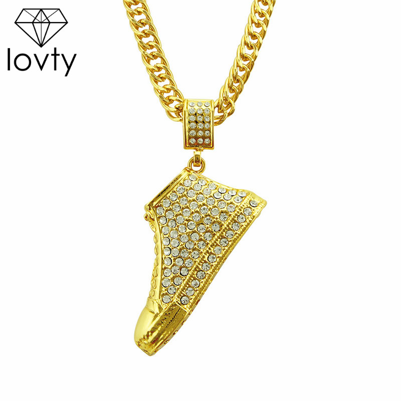 lovty Personalized Custom Photo Necklace Angel Wings Necklace Pendant 18K Gold Cubic Zircon Tennis Chain//Rope Chain Hip hop Jewelry Iced Out Necklace for Men Women