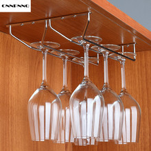 ONNPNNQ Wine Cup Holder Goblets European Wine Hangers Stainless Steel Storage Rack