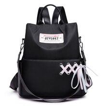 Fashion Oxford Backpack Girls Schoolbag Crossbody Bag High Quality Women Leisure Backpacks Mochila Feminina