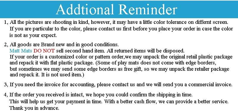 Addtional-Reminder