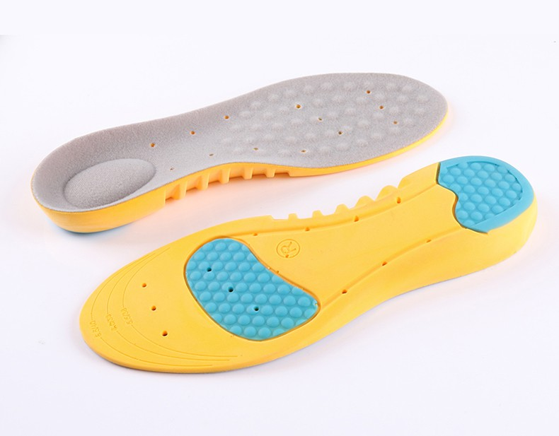 b7c1fefca9a ... 3rd Generation Hiking Sport Memory Foam Arch Support Basketball Running  Shock Absorbing Cushion Insole Foot Massage ...
