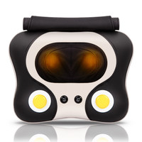Heating Massage Cushion Pillow Cervical Massager 4D Kneading Electric Vibrating Massager Shiatsu Body Shoulder Back Massage