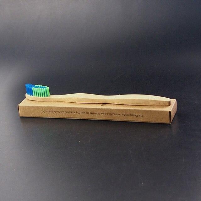 Dr Perfekte 1 Teil Schachtel Bunte Bambus Zahnburste Naturfaser