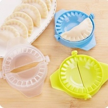 Baking and pastry tools 1psc kitchen creative  plastic color pinch dumplings folder household packaging mold