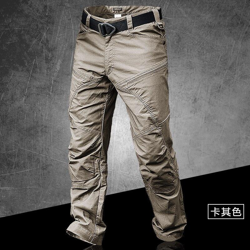Pantalon tactique mince de Stalker à séchage rapide imperméable à l'eau en plein air printemps automne entraînement escalade respirant pantalon Long Cargo salopette